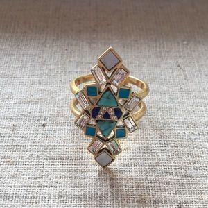 Stella & Dot Stone Tile Ring